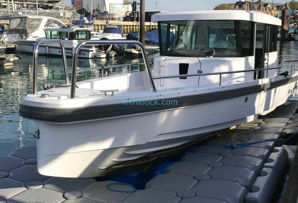Tetradock | Drive On Floating Docks for RIBs Boats & Jetskis